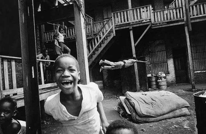 Backyard Olympics, by Art Shay - 1958 - Courtesy Monroe Gallery