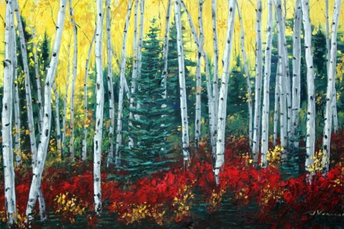 Autumn Lovliness by Jennifer Vranes