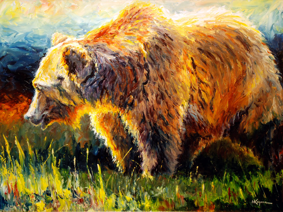 Day of the Grizzly by Harry Koyama