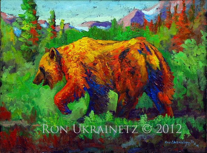 Golden Bear by Ron Ukrainetz