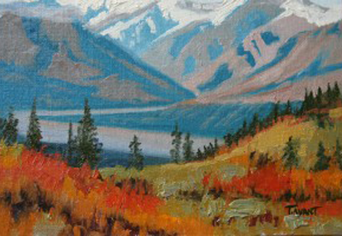 South of Denali Alaska by Tracy Avant