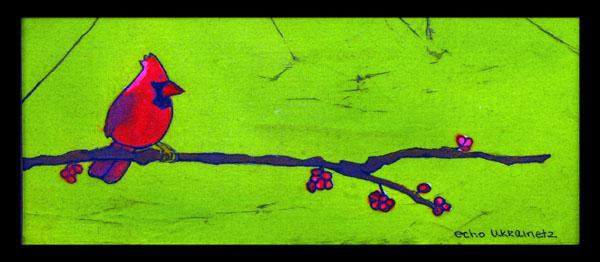 Birds-n-Berries 1 by Echo Ukrainetz