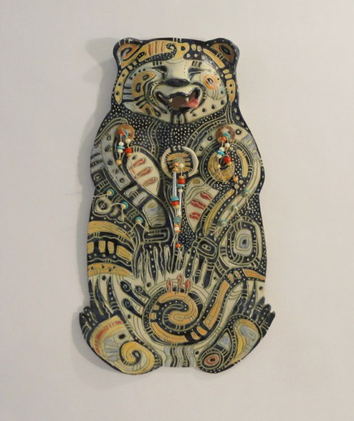 Contented Bear by Christine Mckay