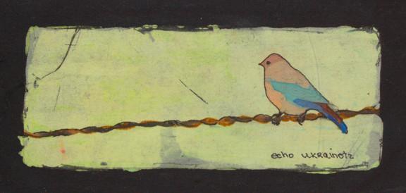 Waiting for Him - Batiks by Echo Ukrainetz