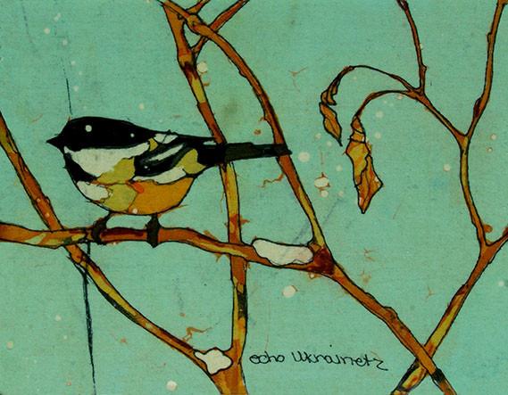 Waiting for Winter - Batiks by Echo Ukrainetz