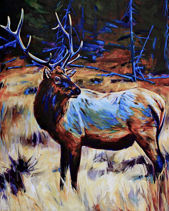 Quiet in the High Meadow by Debbie Edgers Sturges