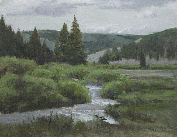 Flint Creek by Jerry Inman