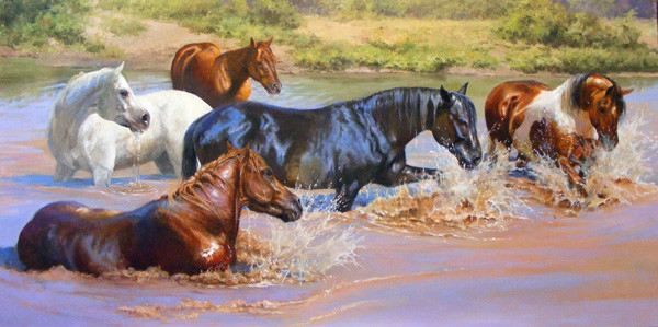 Horseplay by Bonnie Marris