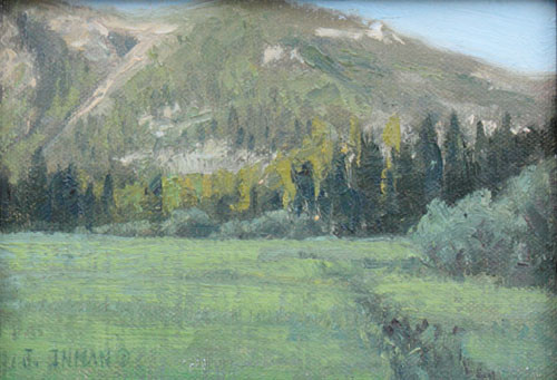 Basin Meadow by Jerry Inman
