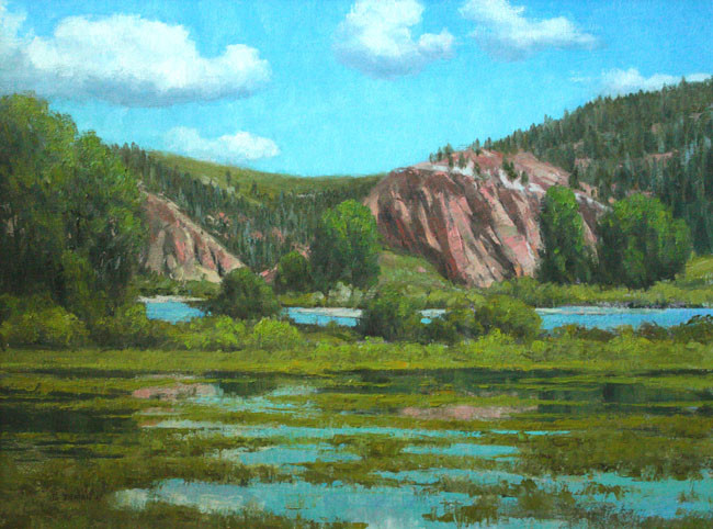 Red Cliffs by Jerry Inman