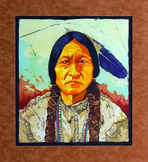 Sitting Bull by Echo Ukraintz