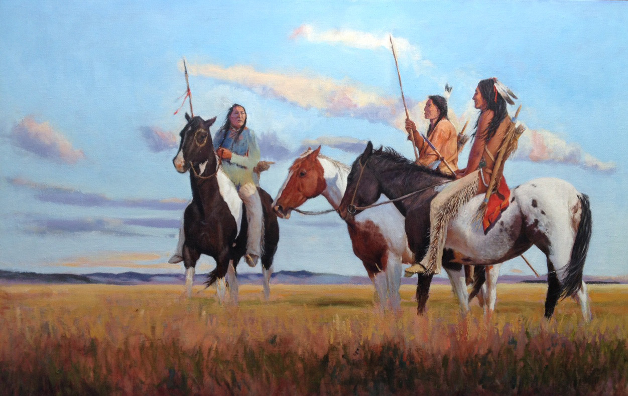 Lakota Summer by John Gawne