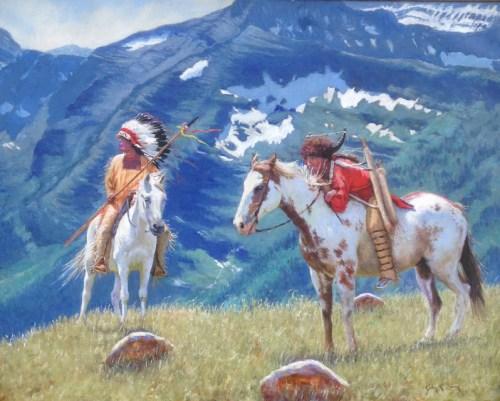High Country Wanterings by John Gawne