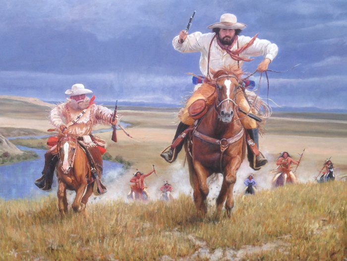 Forty Miles To Fort Benton by John Gawne