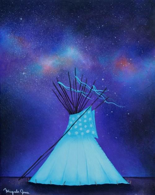 Under The Stars by Micqaela Jones