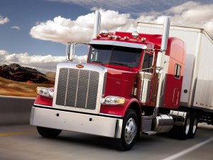 Big rig truck