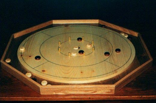 Crokinole Board Game Plan  Downloadable