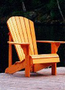 adirondack chairs kits farm table with bench and standard size chair plan - downloadable