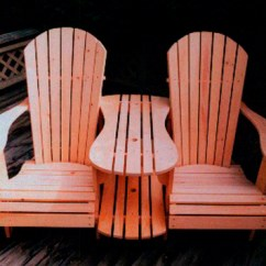 Adirondack Chair Kit Maestro Pedicure Standard Size Settee Plan Downloadable