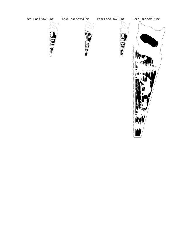 Bear Patterns Package- 53- Scroll Saw Bear Patterns