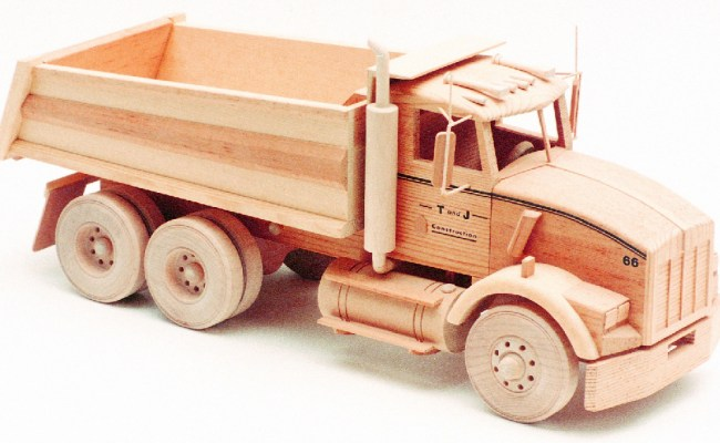 Kenworth Dump Truck 18 Woodworking Patterns
