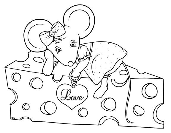 Metal of Love-Mouse-BW
