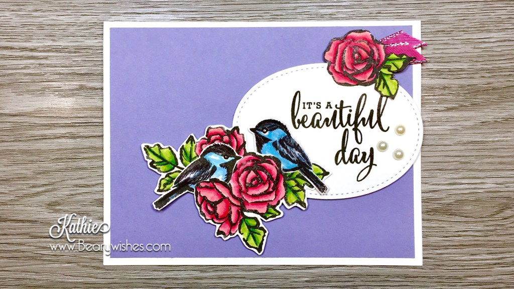 canadian stampin up demonstrator, stampin up, paper piecing, card making, card making Canada, paper crafting, paper crafting Canada, stamping up demonstrator, Kathie zaban, bearywishes, stampinkathie, stampin Kathie, Stamping, card making Canada, petal palette, beautiful day, blog hop