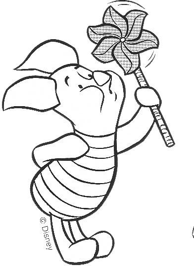 Malvorlagen 4 - Beas Winnie Pooh