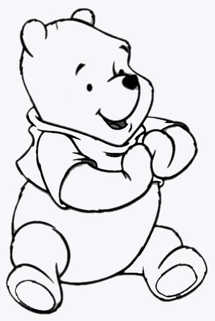 Malvorlagen 6 - Beas Winnie Pooh
