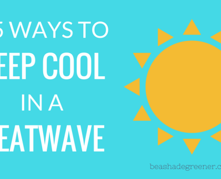 How to keep cool in hot weather & at night