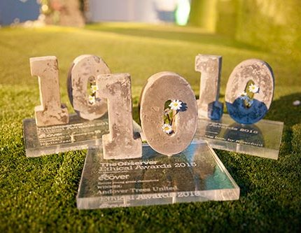 The Observer Ethical Awards 2015 in association with Ecover