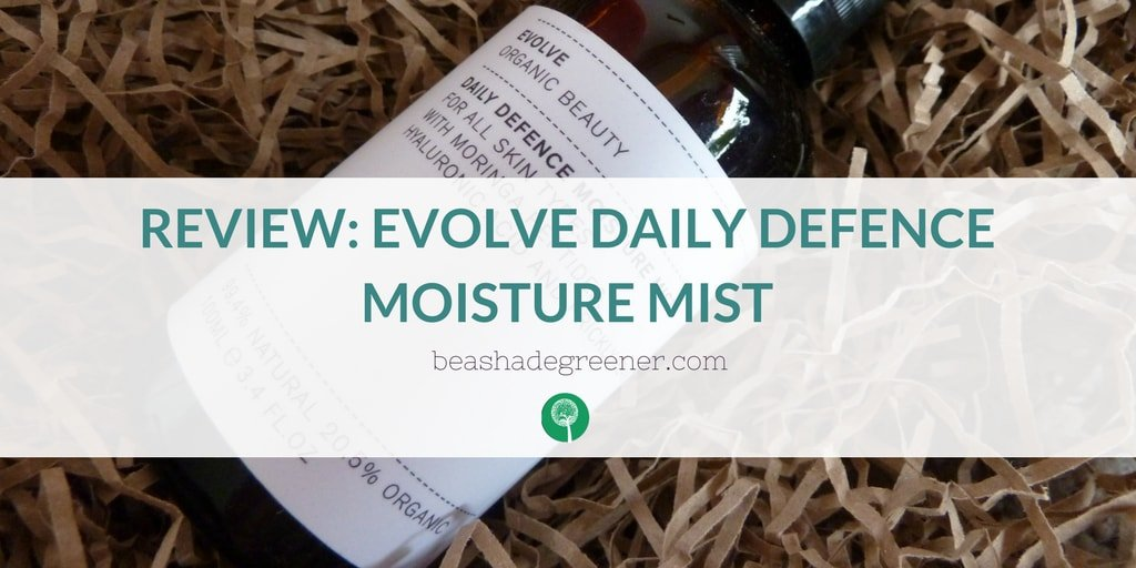 Evolve Daily Defence Moisture Mist