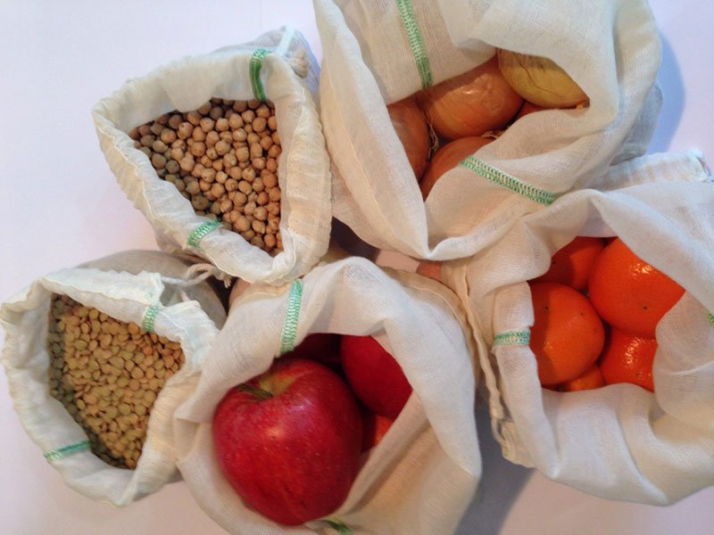 Handmade Tales reusbale produce veggie bags