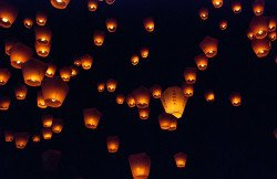 Dangers of chinese sky lanterns and balloon releases
