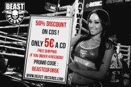 50% discount on Beast Cds