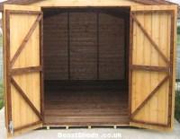 Shed Doors - double doors, stable doors, hinging