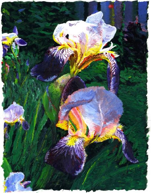 Multonomah Falls Wallpaper Desktop Brett Rogers Gallery Of Artwork Painting Art