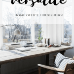 The most versatile home office layout