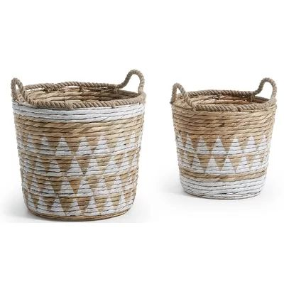 Seaside themed Weaved baskets