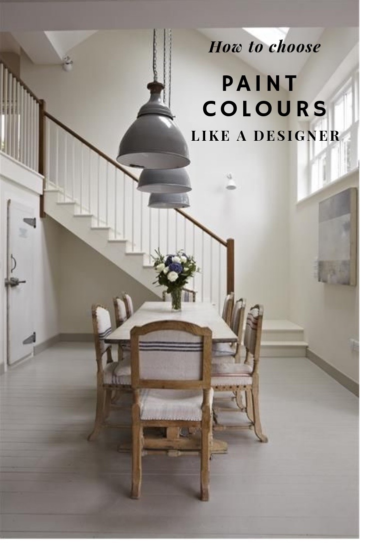 How to choose paint colours like a designer