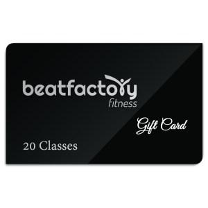 Beatfactory Fitness 20-Class Gift Card