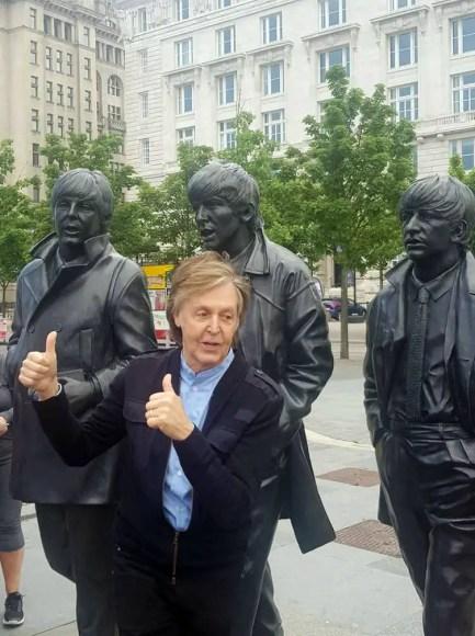 Paul McCartney in Liverpool, 9 June 2018
