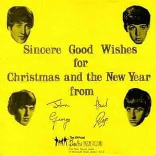 The Beatles' Christmas Fan Club single, 1963