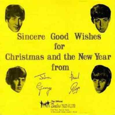 The Beatles' Christmas Fan Club single, 1963