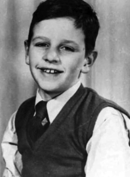 Ringo Starr (Richard Starkey) as a child in the 1940s