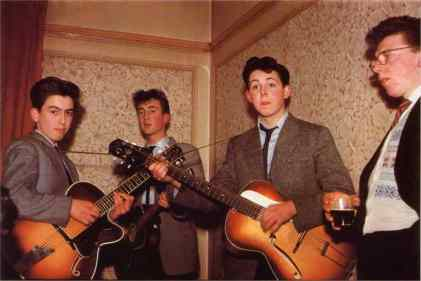 The Quarrymen and Dennis Littler, 1958