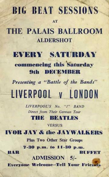 The Beatles Polska: Live: Palais Ballroom, Aldershot