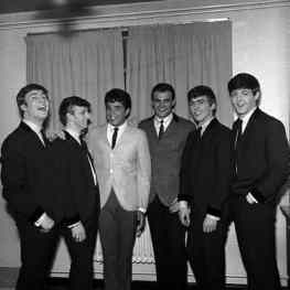 The Beatles, Chris Montez and Tommy Roe in London, 9 March 1963
