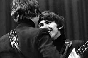 John Lennon and George Harrison, Saturday Club, BBC, 17 December 1963