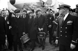 The Beatles at JFK Airport, 7 February 1964